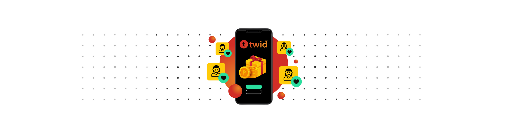 Twid - Curated customer loyalty  and rewards programs